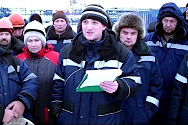 В России забастовали рабочие Газпрома Забастовка, Вахтовики, Новости, Россия, Зарплата, Ямал, Негатив