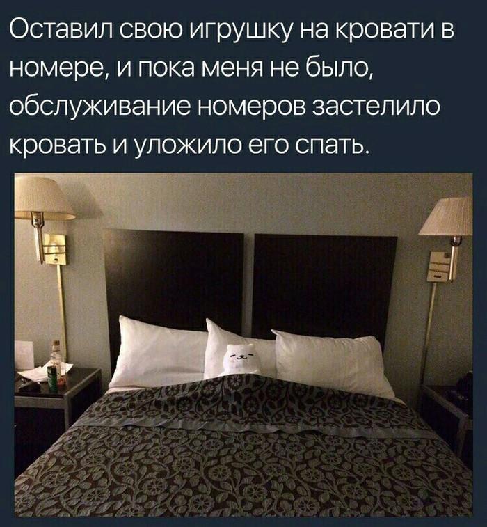 Заботка Отель, Скриншот, Мягкая игрушка, Сервис, Милота