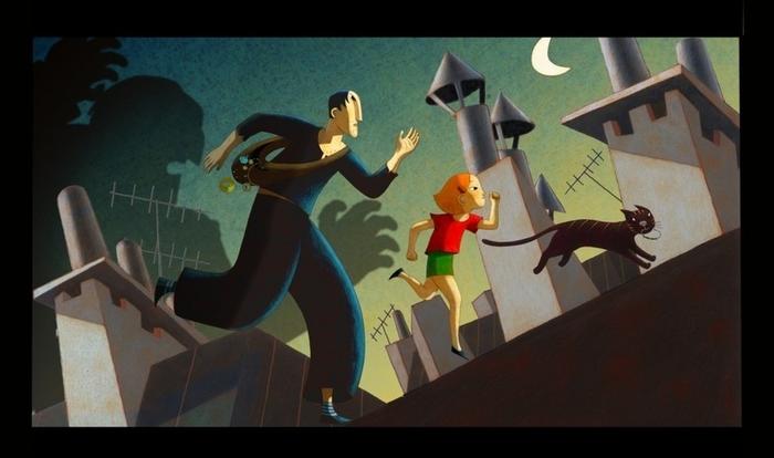 Прекрасные французские мультфильмы Прекрасное, Французский, Мультфильмы, Длиннопост