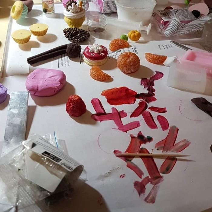 Мой творческий беспорядок ))) Ручная работа, Рукоделие с процессом, Полимерная глина, Творчество, Беспорядок, Длиннопост