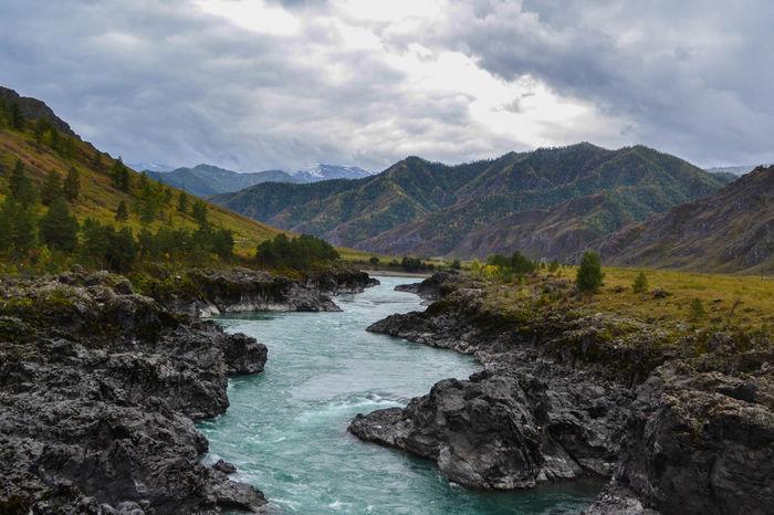 Катунь 2014 Hdr, Катунь, Алтай, Природа, Пейзаж