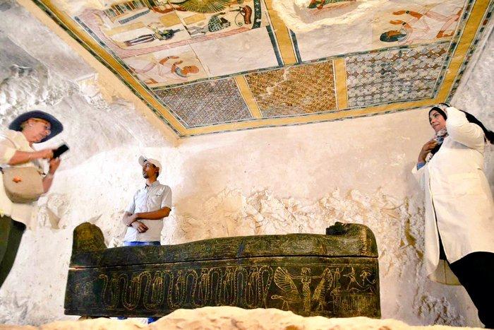 Трёхтысячелетняя гробница с мумией обнаружена в Египте Археология, Находка, Мумия, Египет