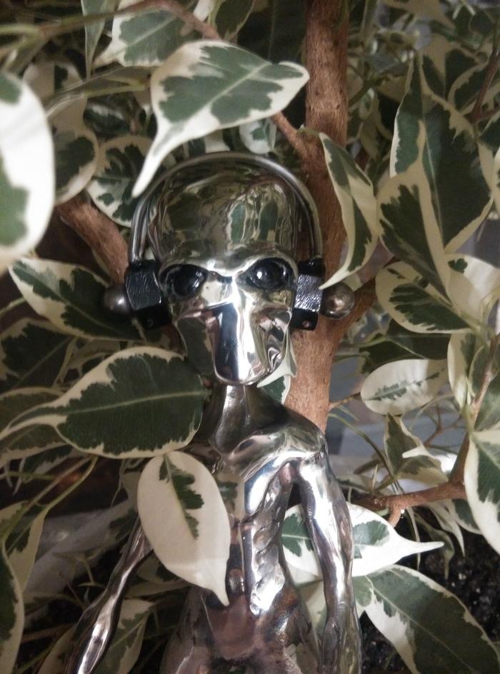 Инопланетянин 2 Рукоделие без процесса, Сварка, Статуэтка, Поделки, Ручная работа, Длиннопост