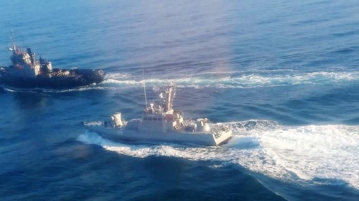 В ФСБ заявили о задержании трёх нарушивших границу России кораблей ВМС Украины ВМС, Черное море, Длиннопост, Украина, Политика