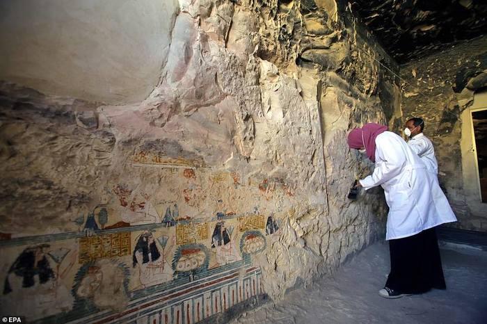 Новые находки в некрополеАсасиф(Луксор, западный берег Нила) Египет, Древний египет, Археология, Египтология, Луксор, Длиннопост