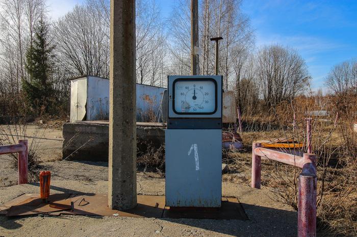 Старая советская заправка Заброшенное, Бензин, Заправка, Газпром, Урбанфакт, Видео, Длиннопост