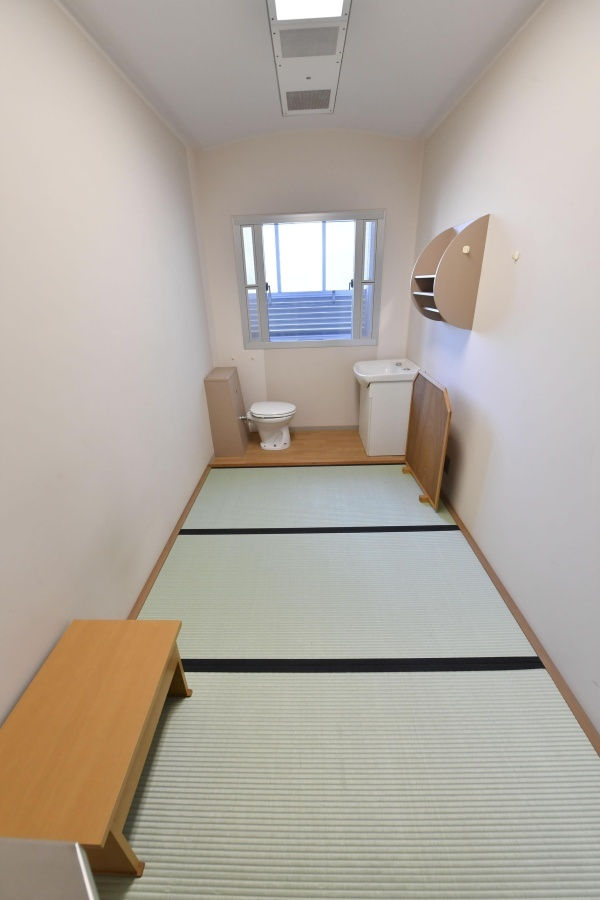 Камера в обычной Токийской тюрьме Камера, Фотография, Токио, Тюрьма, Япония