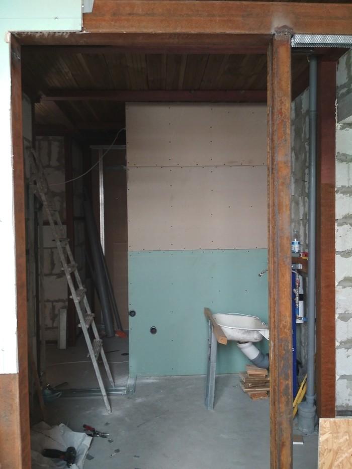 Квартира-мансарда. Пост 6. Зашиваем стены Ремонт, Мансарда, Длиннопост, Строительство