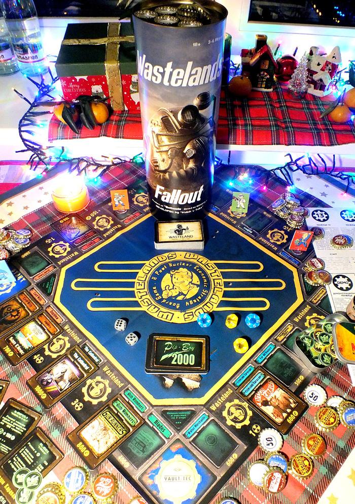 Fallout Wastelands Пнп, Своими руками, Подарок, Настольные игры, Длиннопост, Fallout, Монополия, Новый Год