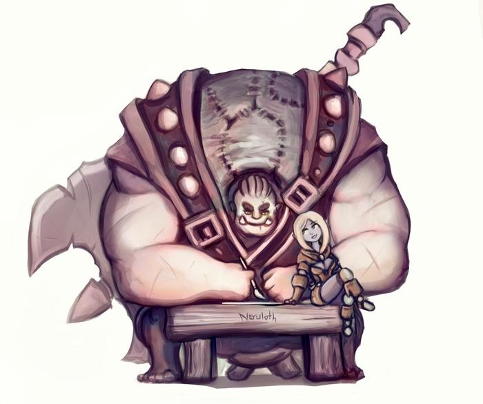 Мастера Neruloth и Lelothor [Dungeon and Dragons] Neruloth, Lelothor, DnD 5, Game Art, Арт