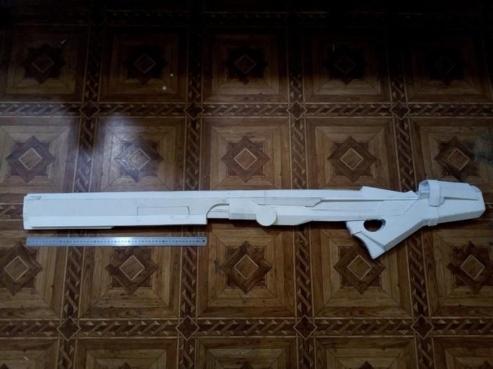 Cнайперская винтовка из Borderlands Borderlands, Borderlands 2, Оружие, Снайперская винтовка, Игры, Длиннопост