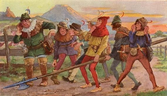 История о том, как немцев к чистоте приучали История, Немцы, 15 век, Германия, Грязь, Мусор, Доносы, Длиннопост