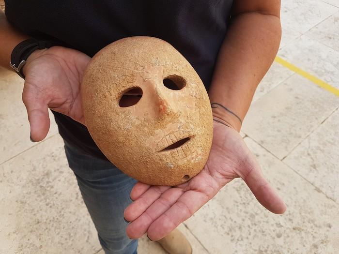 Находка Маска, Археология, Находка, Израиль