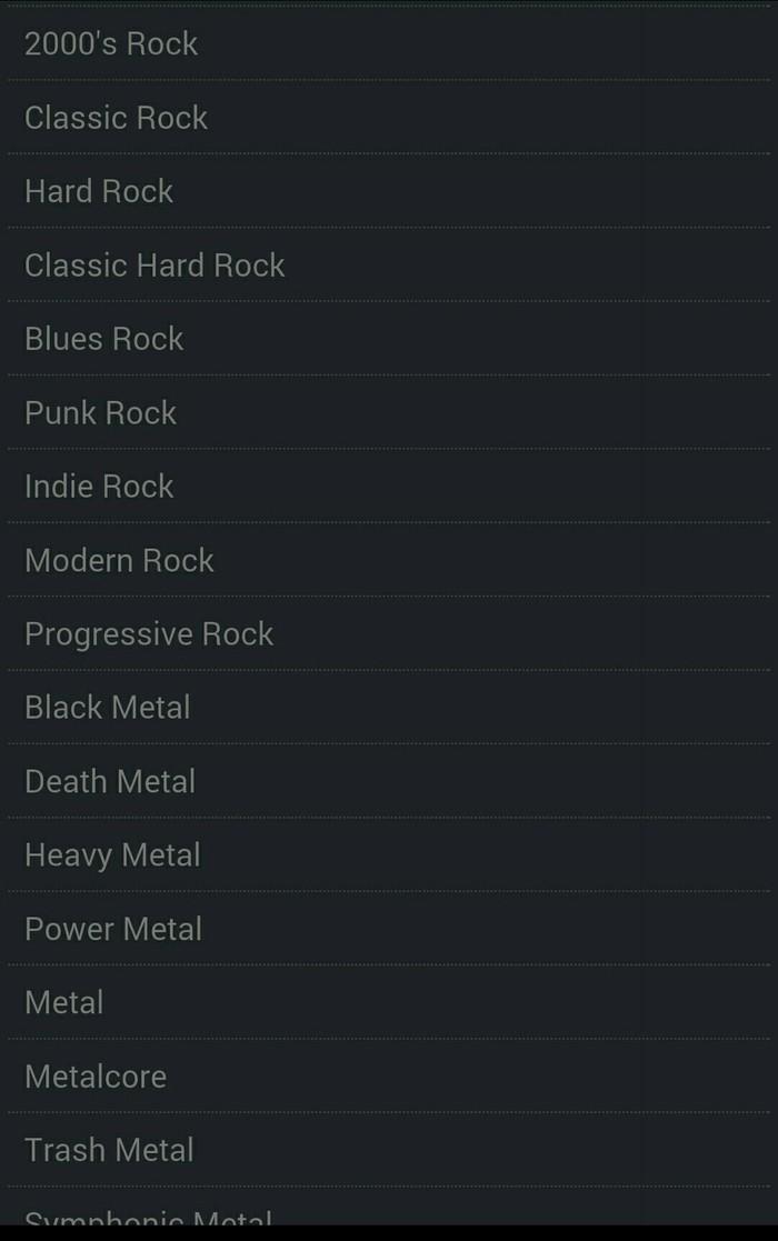 ROCK RADIO (опрос) продолжение Рок, Приложение на android, Интернет-Радио, Длиннопост