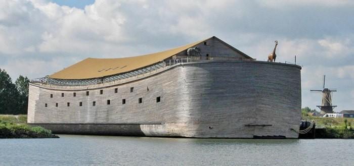 Голландец построил Ноев ковчег за 1,6 млн $. И хочет отправить его в Израиль. Ноев ковчег, Библия, Голландия, Строительство, Идея, Израиль, Сумасшедший, Интересное, Длиннопост