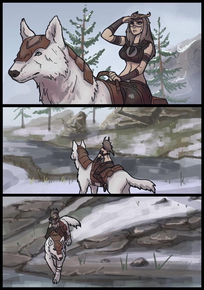 Поиски Комиксы, Игры, The Elder Scrolls Online, ESO, MMORPG, ElvenBacon, Длиннопост