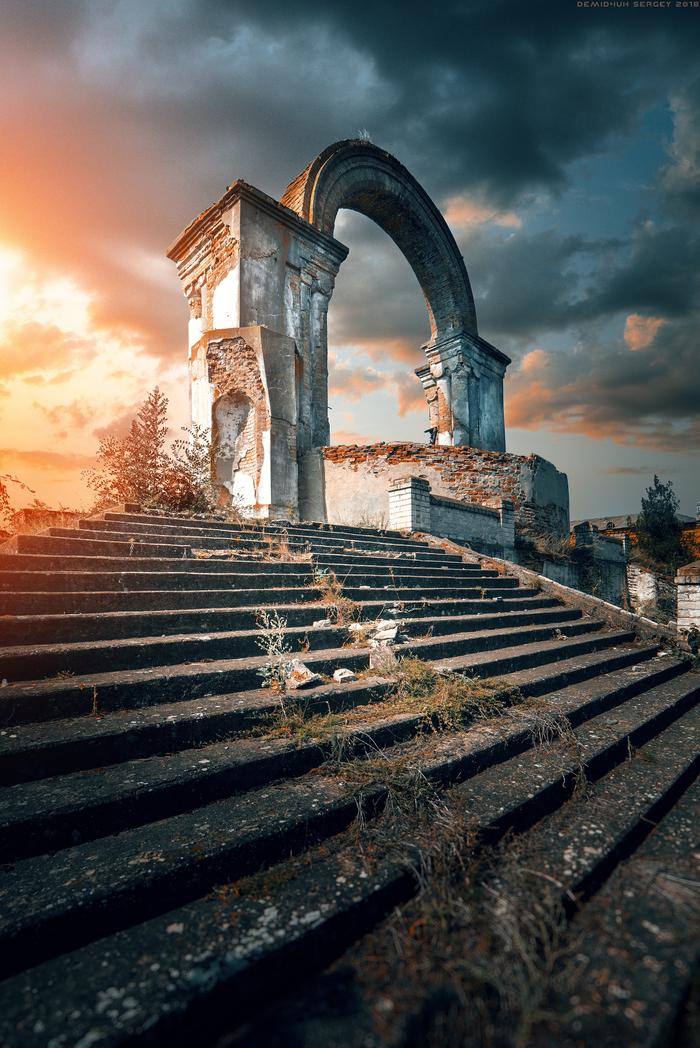 """""""The Gate"""" Фотография, Руины, Своя атмосфера, Пейзаж, Портал, Цвет, Samyang, Nikon"""