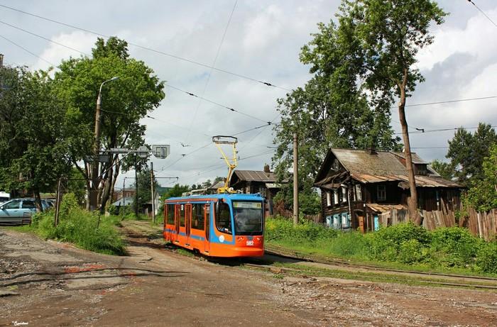 Пермский трамвайчик