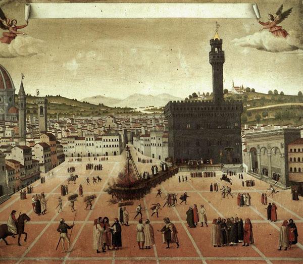 Савонарола: попытка построить град Божий на земле. Савонарола, Флоренция, Длиннопост