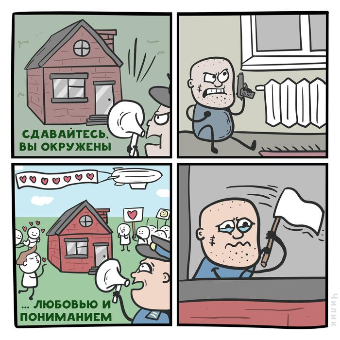 Сдавайтесь Комиксы, Преступник, Любовь, Sokolovsky!, Чилик
