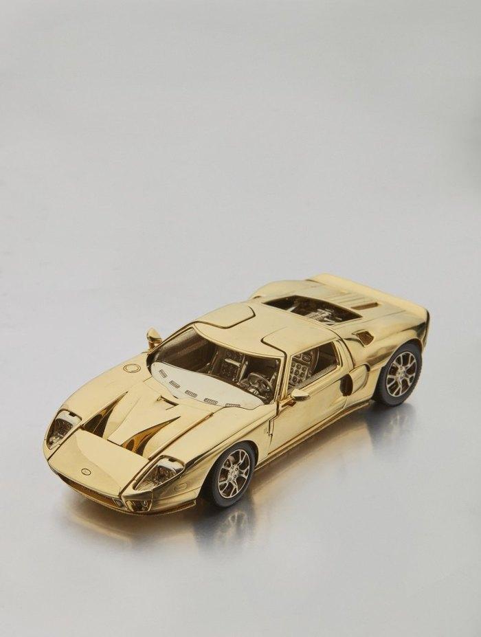 Модель Ford GT из золота продадут с молотка Ford GT, Авто, Интересное, Золото, Масштабная модель, Длиннопост