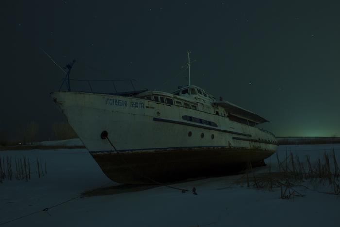 Корабль на зимовке Canon 600D, Корабль, Начинающий фотограф, Длиннопост, Фотография