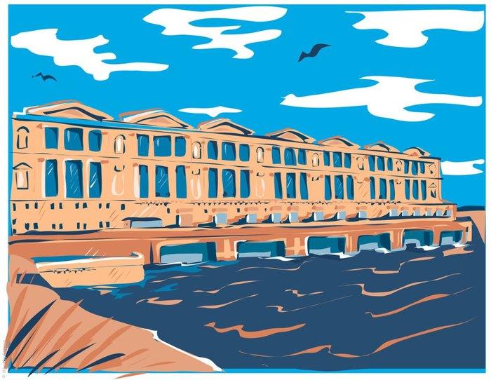 Как работает Рыбинская ГЭС Рыбинск, Гидроэлектростанция, Фотография, Энергетика, Ярославская область, Длиннопост
