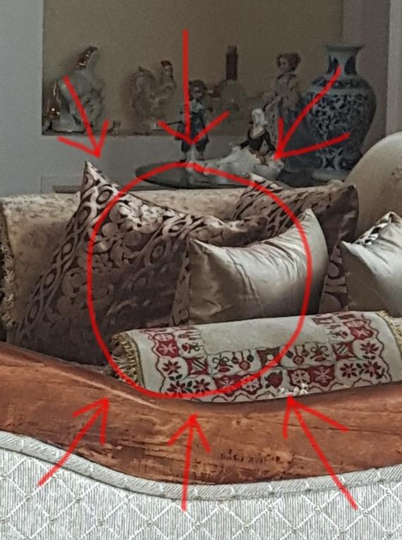 Дамбо, ты видишь то что я вижу?!! Мама, Иллюзия, Зрение, Длиннопост, Подушка