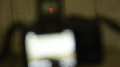 Коллиматорный прицел на фотоаппарате Фотоаппарат, Коллиматорный прицел, Оптика, Гифка