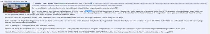 «Fallout 76 убивает нас» — что анонимный разработчик из Bethesda рассказал о ситуации в студии Fallout 76, Fallout, Компьютерные игры, Игры, Казус, Проблема, Вброс, Reddit, Длиннопост