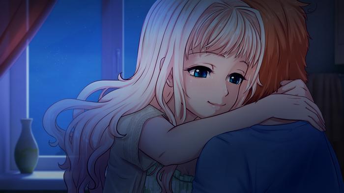 Новости разработки LGG, ноябрь 2018 OrikaNekoi, Яна, Little Green Girl, Визуальная новелла, Anime Art, Авторское