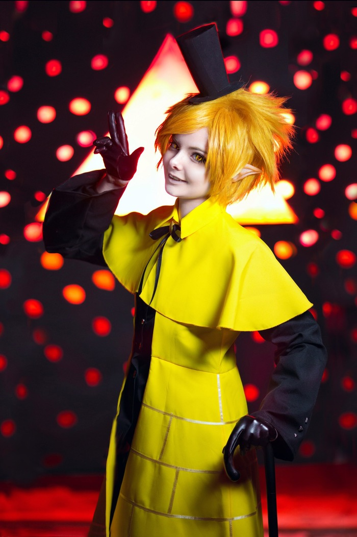 Bill Cipher by Sorui Косплей, Gravity Falls, Bill Cipher, Длиннопост