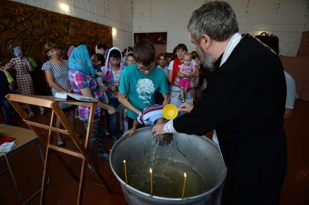 Обряд крещения признали несогласованным митингом и осудили священнослужителя Новости, Россия, Набережные челны, Крещение