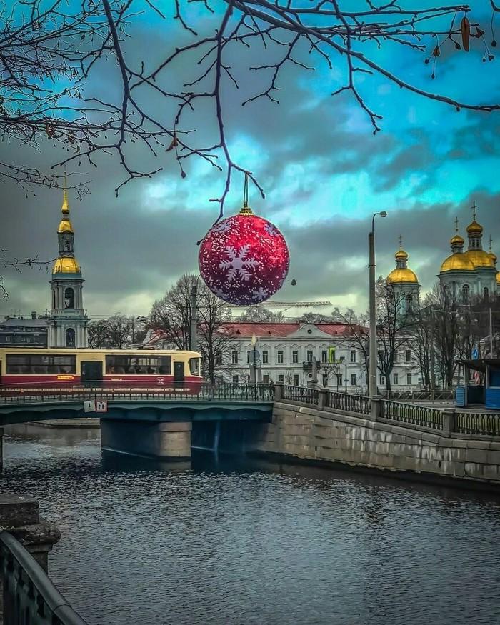 Праздник уже в городе! Праздники, Санкт-Петербург, Елочные игрушки, Фотография