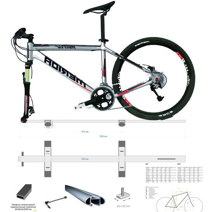 Самодельное крепление для перевозки велосипеда Велосипед, Велобагажник, Велокрепление, Самоделки, Длиннопост, Видео