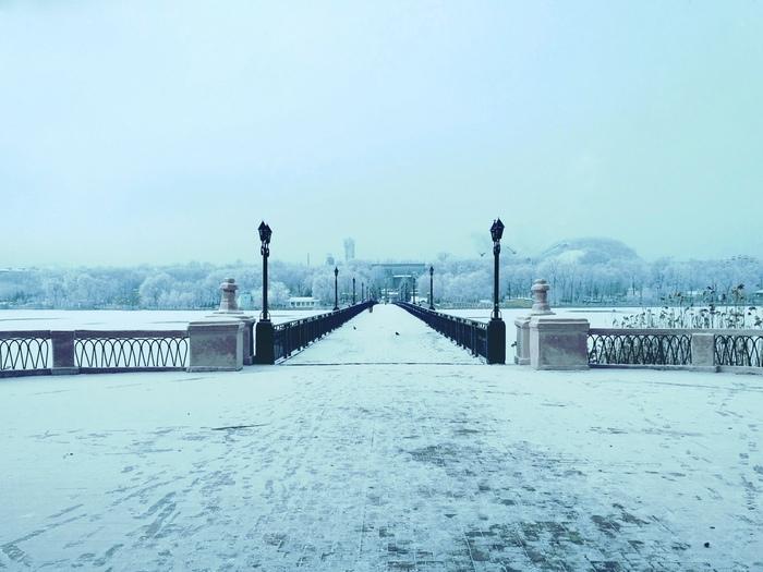 Немного зимы в Донецке )