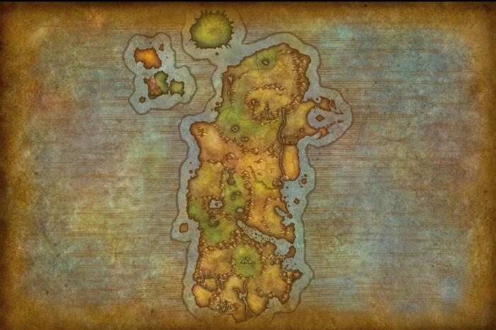 Обновление карт мира в WoW World of Warcraft, Battle for Azeroth, Длиннопост