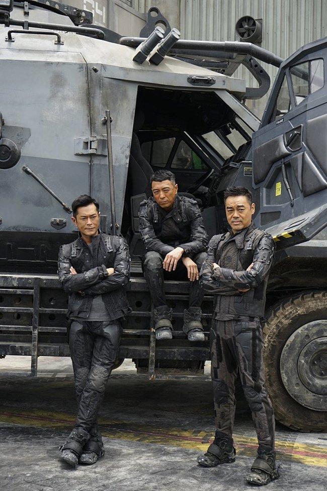 """Постер """"Воинов будущего"""" - еще одного китайского фантастического блокбастера Азиатское кино, Китай, Гонконг, Блокбастер, Боевики, Фантастика, Спецэффекты, Длиннопост, Видео"""