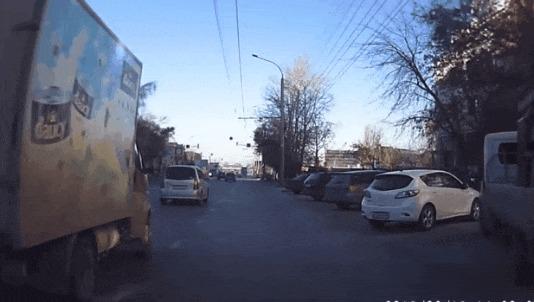 Эх, проскочу #31 ДТП, Эх проскочу, Новосибирская область, На двух колесах, Гифка, Видео