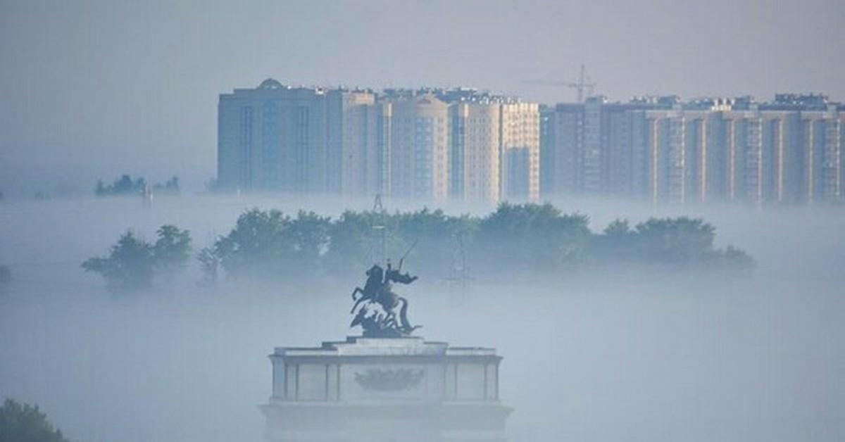 Курских автомобилистов предупреждают о тумане
