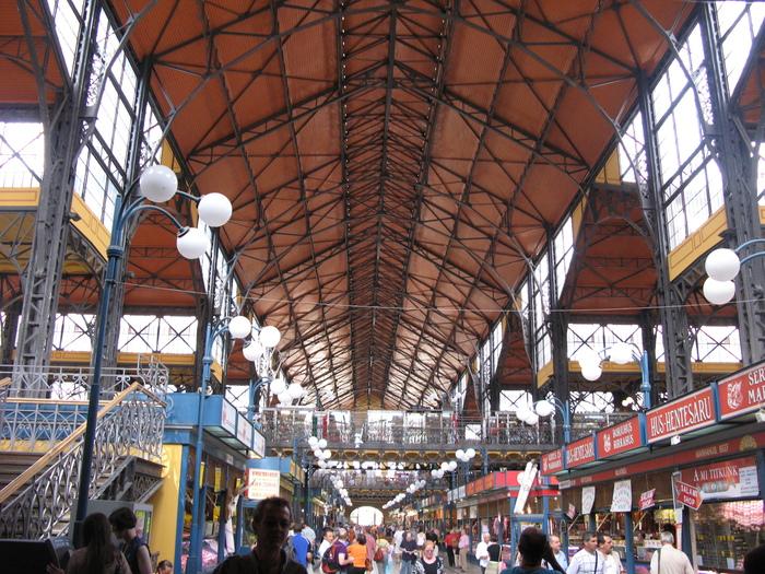 Центральный рынок .Будапешт.Венгрия. Венгрия, Будапешт, Рынок, Длиннопост