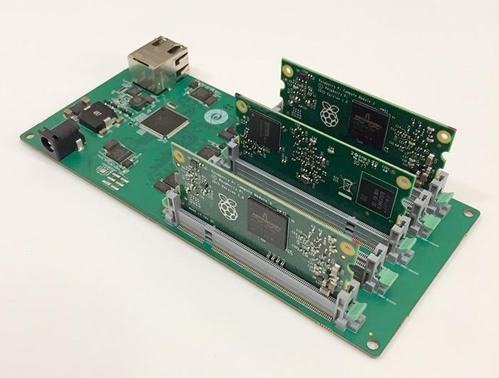 Плата miniNodes упрощает создание кластера из модулей Raspberry Pi Rpi, Raspberry pi, MiniNodes