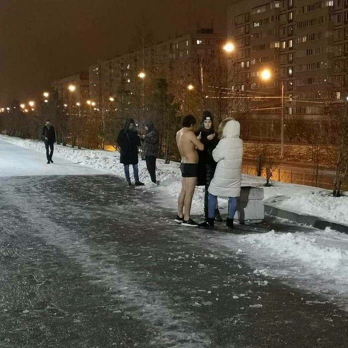 Было лень... Лень, Зима, Одежда
