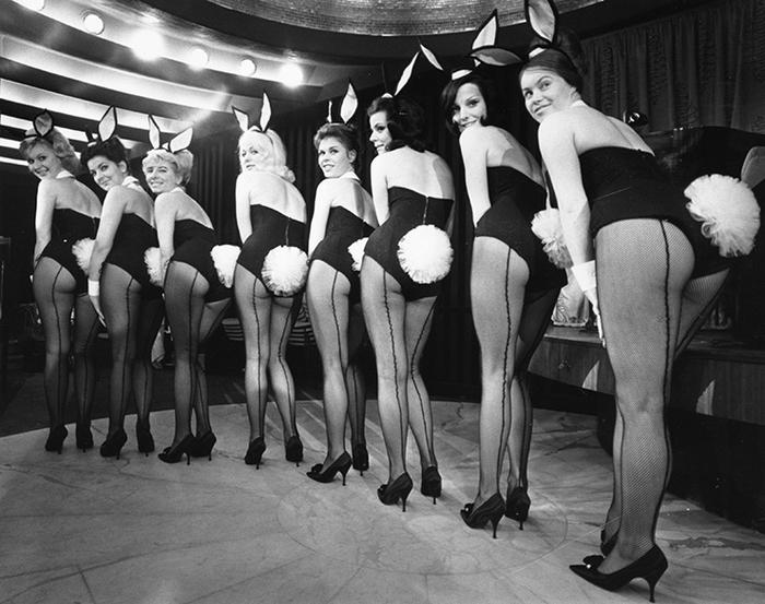 Каково было работать Playboy-кроликами в «Золотом веке» сексуальной революции Playboy, Девушки, Хью Хэфнер, Playboygirls, Длиннопост, Bunnysuit