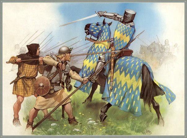 Как променять независимость на 5 оскаров. Часть 2 Cat_Cat, Длиннопост, История, Лига историков, Война, Англия, Шотландия, Средневековье