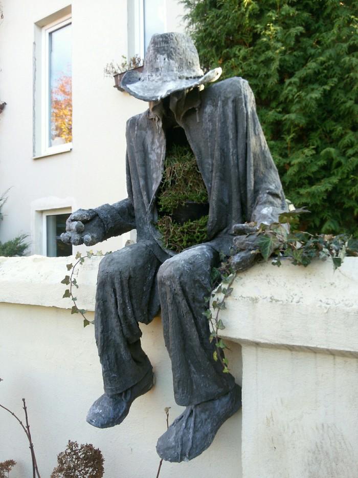 Жуть садовая Садовая скульптура, Крипота, Визиты, Частный сектор, Показалось