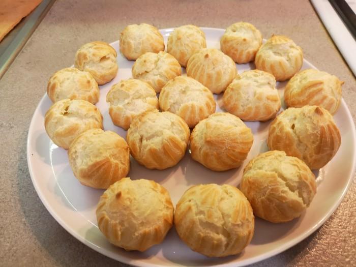 Хорошее заварное тесто для эклеров. Пирожные, Эклеры, Кулинария, Радуйте своих любимых, Длиннопост, Еда