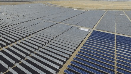 Как чистят солнечные батареи