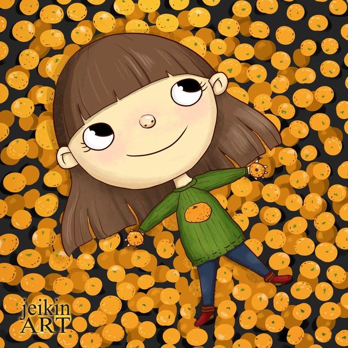 Не могу ни быть, ни жить без мандарина!