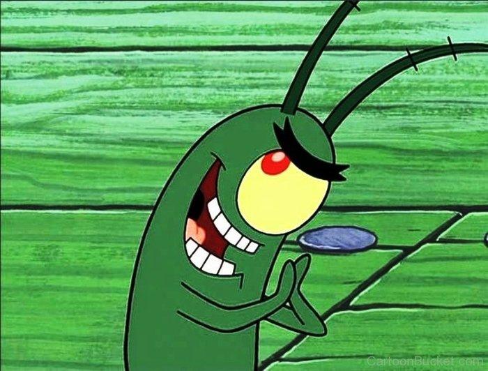 Хороша Планктон, Монитор, Голова
